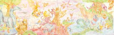 平野 葵 ― 「空想」洋画 / 水彩・ペン