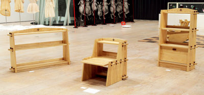 佐藤 維花 ― 「飾り棚」「座り机」「本棚」木工 / 家具