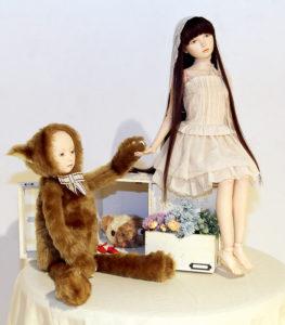 郷古 めぐみ ― 「少女」人形 / 球体間節人形