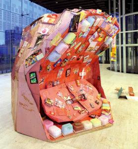 八幡 聡美 ― 「可笑歯」彫刻 / 立体造形